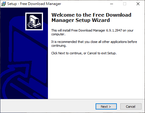 Windows 版本 Free Download Manager 安裝