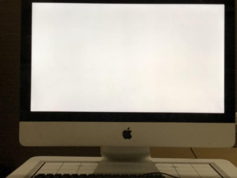 iMac 2011 白蘋果 白屏